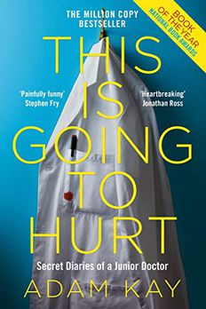 This is Going to Hurt book cover