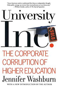 University, Inc. book cover