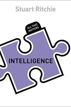 Intelligence book cover