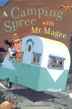 A Camping Spree with Mr. Magee book cover
