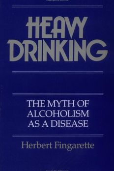 Heavy Drinking book cover