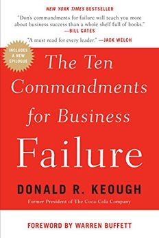 The Ten Commandments for Business Failure book cover