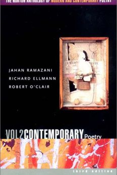 The Norton Anthology of Modern and Contemporary Poetry, Volume 2 book cover