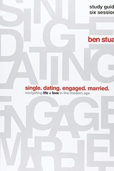 Single, Dating, Engaged, Married Study Guide book cover