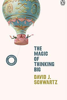The Magic of Thinking Big book cover