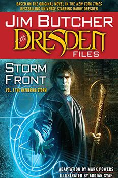 The Dresden Files book cover