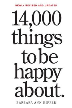 14,000 Things to Be Happy About. book cover