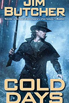 Cold Days book cover