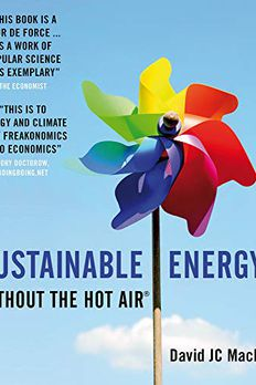 Sustainable Energy - Without the Hot Air book cover
