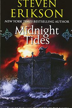 Midnight Tides - A Tale of the Malazan Book of the Fallen book cover