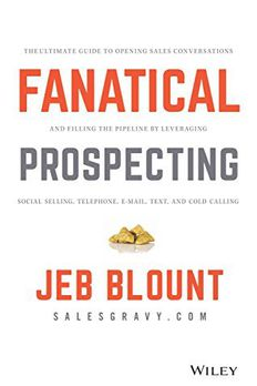 Fanatical Prospecting by Jeb Blount book cover