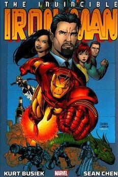 Iron Man by Kurt Busiek and Sean Chen Omnibus book cover