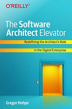 The Software Architect Elevator book cover