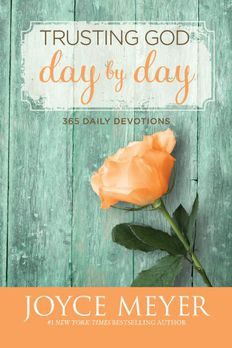 Trusting God Day by Day book cover