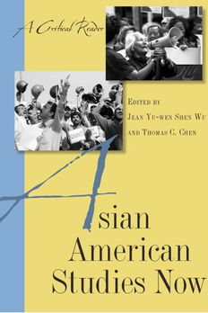 Asian American Studies Now book cover