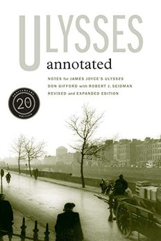 Ulysses Annotated book cover