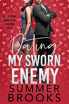 Dating My Sworn Enemy book cover