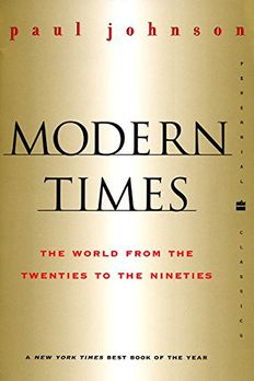 Modern Times  Revised Edition book cover