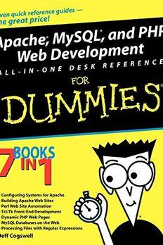 Apache MySQL PHP Web Dvlpmnt AIO Dsk FD book cover