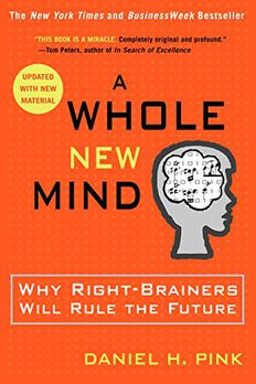 A Whole New Mind book cover