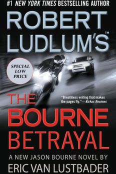 The Bourne Betrayal book cover