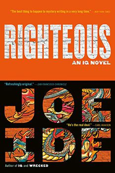 Righteous book cover