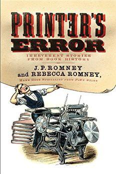 Printer's Error book cover