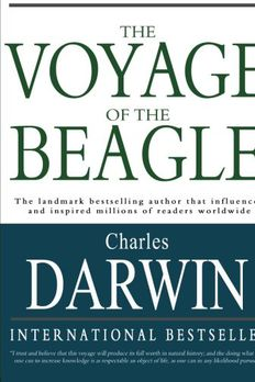 The Voyage of the Beagle book cover