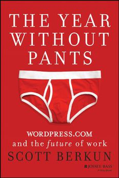 The Year Without Pants book cover