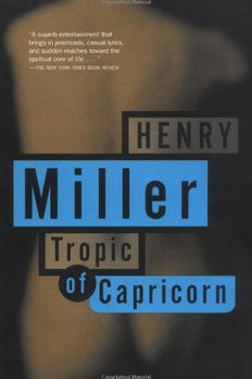 Tropic of Capricorn book cover