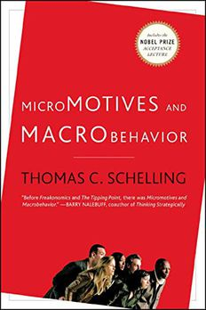 Micromotives and Macrobehavior book cover