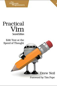 Practical Vim book cover
