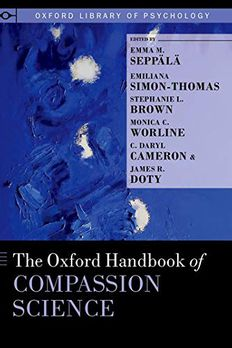 The Oxford Handbook of Compassion Science book cover
