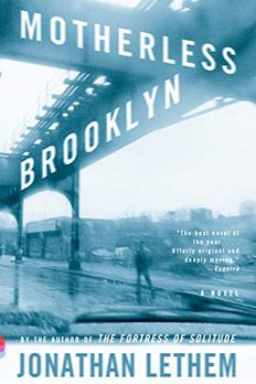 Motherless Brooklyn book cover
