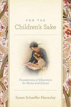For the Children's Sake book cover