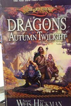 Dragonlance book cover