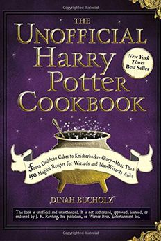 The Unofficial Harry Potter Cookbook book cover