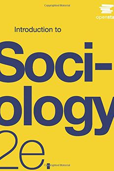 Introduction to Sociology 2e by OpenStax book cover