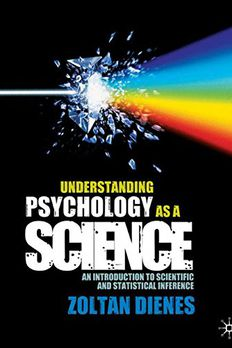 Understanding Psychology as a Science book cover