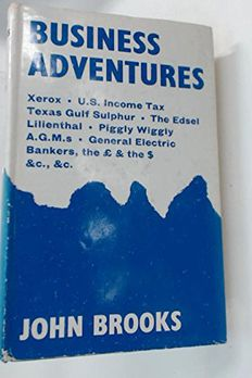 Business adventures book cover