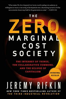 Zero Marginal Cost Society book cover