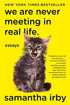 We Are Never Meeting in Real Life. book cover