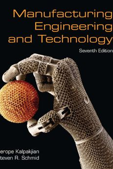Manufacturing Engineering & Technology book cover