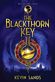 The Blackthorn Key book cover