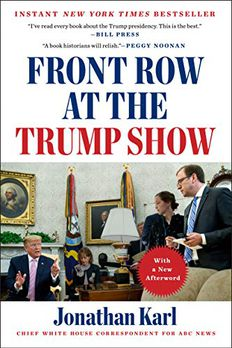 Front Row at the Trump Show book cover