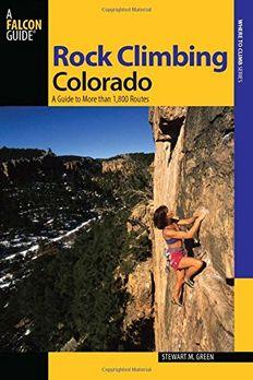 Rock Climbing Colorado, 2nd book cover