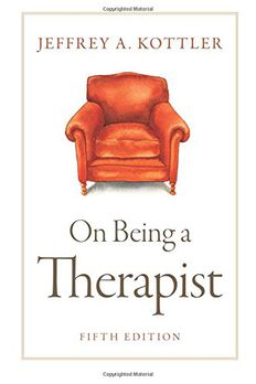 On Being a Therapist book cover