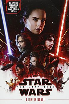 The Last Jedi - A Junior Novel book cover