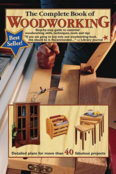 The Complete Book of Woodworking book cover