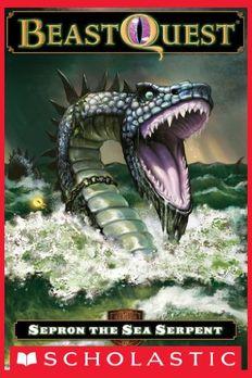 Sepron The Sea Serpent book cover